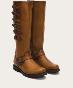 FRYE | Veronica Belted Tall - Cognac