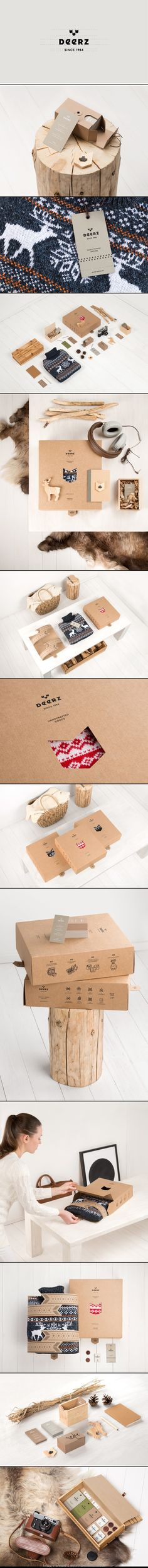 Here you go @Jenn L Yoder Mihailova Deerz awesome #identity #packaging #branding curated by Packaging.