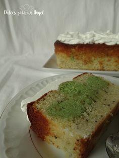 Dulces para un Angel: Cake de lima y semillas de amapola por el día internacional del Síndrome de Angelman