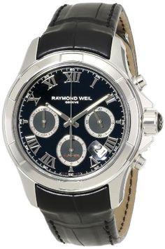 Raymond Weil Men's 7260-STC-00208 Parsifal Analog Display Swiss Automatic Black Watch