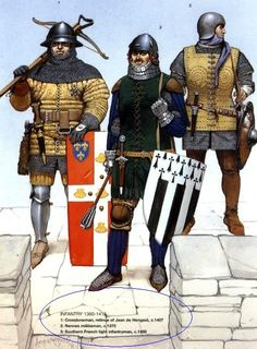 Infantry - Late 14th century