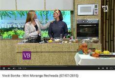 Chef Izabela Braga e a apresentadora Carol Minhoto, no programa Você Bonita, TV Gazeta -  #cozinhanutritiva #comidadeverdade #saudavelsemneura | Chef Izabela Braga - Insta: @chefizabelabraga