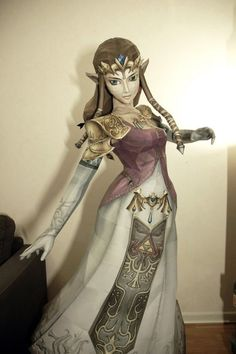 Life-Sized Papercraft Zelda | Geeks are Sexy Technology News