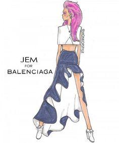 Jem for Balenciaga by Jerome LaMaar