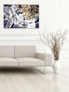 Gardenias Canvas Print == @scrapwedo