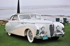 1949 Delahaye 175 Saoutchik Coupe de Ville Maintenance/restoration of old/vintage vehicles: the material for new cogs/casters/gears/pads could be cast polyamide which I (Cast polyamide) can produce. My contact: tatjana.alic@windowslive.com