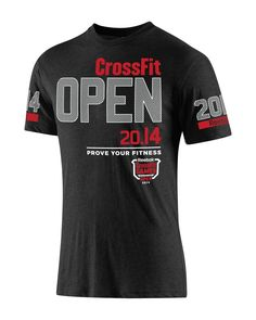 2014 Reebok CrossFit Open Tee - Games Gear | CrossFit HQ Store