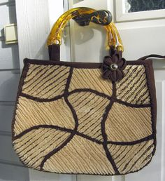 Ulla's Quilt World: Quilted chenille bag and pattern