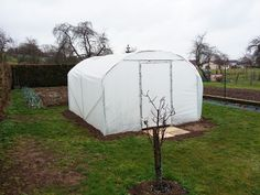 Serre tunnel largeur 3 m Saumuroise Serre Tunnel, Outdoor Gear, Small Gardens, Green Houses, Outdoor Tools