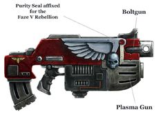 Combi-weapons are a variety of Space Marine, Chaos Space Marine and Ork weaponry derived from the integration of multiple different weapon types into a single weapon. There are two major types of Combi-weapons. The first combines two identical weapons into one larger weapon, giving the resulting weapon system a higher rate of fire and better accuracy by virtue of simply throwing more shells, heat beams or plasma at the target. The second type of Combi-weapon is an amalgamation of two…