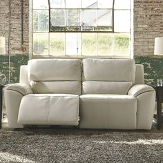 Sofa Pillows Shop for LYKE Home Ramos Cream Reclining Sofa Get free shipping at Overstock Your Online Furniture Outlet Store Get in rewards with Club u