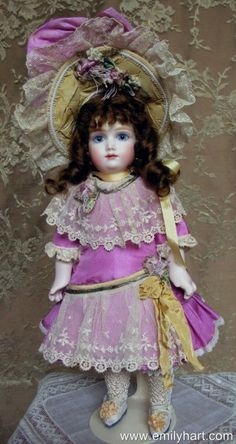 and my aunt DaMaris, avid doll collector..........A3T Bebe by Emily Hart