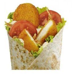 Bonjour à tous ! Aujourd'hui on pense à nos amis végétariens et on vous propose une recette de wrap végétarien à la façon du Mc Wrap chèvre de chez Mac Donald ! Pour les ingrédients : 4 torti…