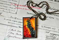 Shrinky Dinks Jewelry using Free Antique Printables from KNICK OF TIME - http://knickoftimeinteriors.blogspot.com/2014/04/antique-graphics-shrinky-dinks-jewelry.html