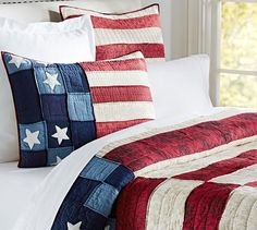Old Glory Flag Quilt