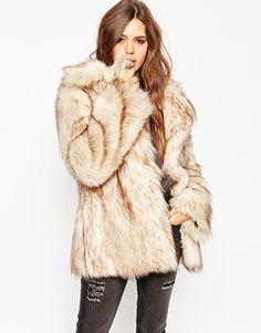 ASOS | ASOS Vintage Faux Fur Coat at ASOS