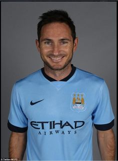 Delighted: Frank Lampard is looking forward to a loan spell with the Premier League champi...