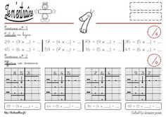 1000 images about calcul on pinterest multiplication for Calcul multiplication ce2
