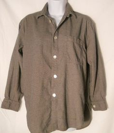Chico's Design Big Shirt Sz 1 s M 8 Longer in Back Womens Casual Button Front | eBay