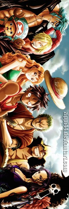 One Piece is an action packed anime about a pirate named monkey. D Luffy and his crew the Straw Hat pirates. One Piece Manga, Manga Anime, Anime Art, Goku Manga, Bd Comics, Anime Comics, I Love Anime, Awesome Anime, Poster One Piece