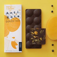 Antidote is a new way of enjoying Chocolate & tackling daily battles.   We source Ecuador's superb Arriba Nacional cacao beans for our bean-to-bar chocolate. The organic cacao content is half-raw, half-roasted and full-flavored with real fruits, nuts, spices and fine salts.