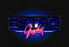 Discover more of the best Neon, Overglow, Retrofuturistic, Logos, and Typography inspiration on Designspiration Typography Images, Typography Inspiration, Design Inspiration, Logos Vintage, Retro Logos, Retro Vector, Retro Vintage, Design Retro, Logo Design