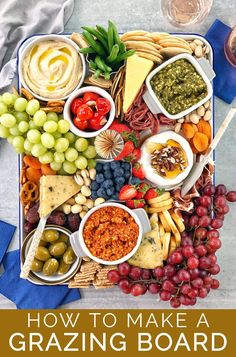 Grazing Platter Ideas From small and simple, to super fancy - it's easy to put together an awesome grazing platter with a few tips and ideas. Check out my Top 10 Tips For The Perfect Grazing Board Platter! Platter Board, Snack Platter, Antipasto Platter, Super Bowl Party, Party Food Platters, Cheese Platters, Fruit Platters, Amazing Food Platters, Simple Cheese Platter