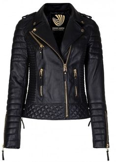 Exportica Leather Women's Lambskin Leather Motorcycle Biker jacket at Amazon Women's Coats Shop