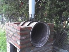Outdoor Oven, Fire Cooking, Rocket Stoves, Backyard, Patio, Garden Structures, Barbacoa, Wood, Outdoor Decor