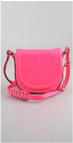 Think Pink! McQ via Bag Snob