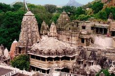 Eklingji Temple is one of the most famous temples of Rajasthan and is located at a distance of 22 km from Udaipur. The temple is dedicated to Lord Shiva and was built in 734 A.D. by Bappa Rawal. The architecture of the temple is worth praising.