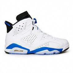 c4ef48534bbf71 Air Jordan Vi 384664-107 Sneakers — Basketball Shoes at CrookedTongues.com   MensFashionSneakers