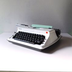 1970s Manual Typewriter Olympiette by Olympia S12 —