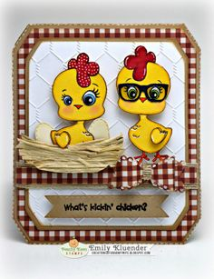 Peachy Keen Stamps: Faceless Chickens and Chickie Face Assortment  http://creationsofanarmywife.blogspot.com/2014/03/peachy-keen-stamps-march-release-blog.html