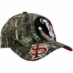 Zephyr Florida State Seminoles (FSU) Double Barrel Adjustable Hat - Mossy  Oak Camo 86d6839335a0