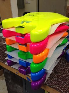 stacks of neon color - Google Search