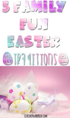 5 Family Fun Easter Traditions - Easter is one of my favorite holidays. We alwa. - 5 Family Fun Easter Traditions – Easter is one of my favorite holidays. Easter Traditions, Family Traditions, Holiday Parties, Holiday Fun, Easter Activities, Family Activities, Holiday Activities, Easter Crafts, Easter Ideas