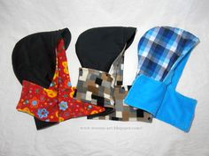 (9) Name: 'Sewing : Hooded Cap