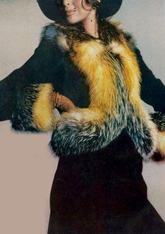 Samantha Jones by Richard Avedon for Vogue, 1971