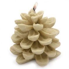 Molde para Vela Navideña, Piña Silvestre Grande. Fantástica #vela con la que #decorar tu casa en Navidad, ideal para regalar. #diy