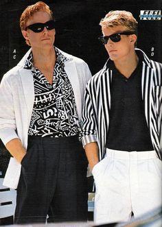 Menswear 80's