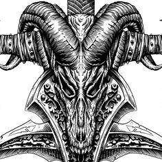 Frostmourne. Warcraft poster.