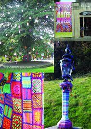 yarn bombing knitting armchair - Recherche Google