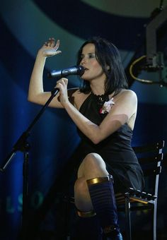 Picture of Andrea Corr.. The Corrs
