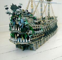 Flying Dutchman: A LEGO® creation by Sebeus I : MOCpages.com