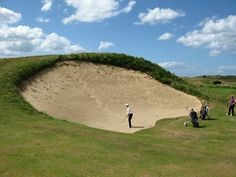 Now THAT'S a bunker... :/ | Rock Bottom Golf #RockBottomGolf