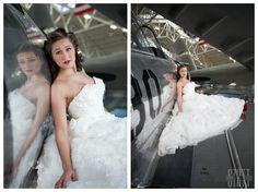 Vintage wedding, patriotic wedding, 1940's wedding, vintage airplanes, pearl harbor wedding, vintage airplane wedding