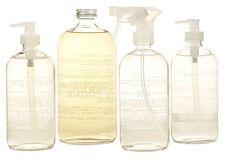 Complete Glass Set on OneKingsLane.com - love the idea of etching clear glass bottles