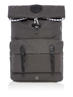 Stighlorgan Reilly Cotton Canvas Rolltop Backpack - House of Fraser House Of Fraser, Luggage Sets, Cotton Canvas, Suitcase, Backpacks, Bags, Shopping, Design, Handbags