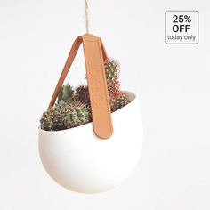 SLING Hanging planter by @jokjor_design just for today at a very special price on #ArchiproductsShop!  #ApxAdvent #archiproducts